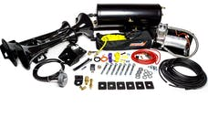 Kleinn Automotive Air Horns RAMHD-230 RAM HD Train Horn and Air System with 6350RC Compressor and Model 230 Horn