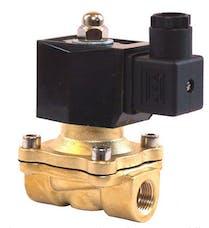 Kleinn Automotive Air Horns VX7004 Vortex™ 7 12v Brass Air Valve-1/2in. F NPT inlet; 1/2in. F NPT outlet