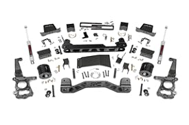 Lift kit for F150 bronze package