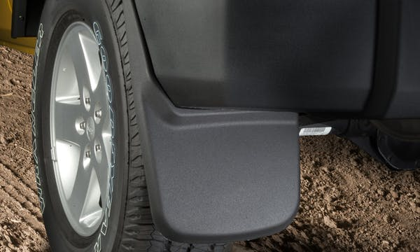 HUSKY MOLDED MUD GUARDS - FRONT
