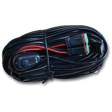 RTX 19' WIRING HARNESS AND RELAY KIT LED LIGHTBAR(S) - DUAL PLUG