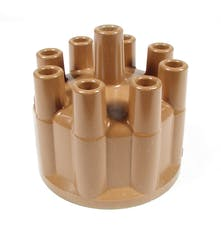 ACCEL 120323 Distributor Cap, Brown (Socket Style)