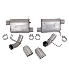 BBK Performance Parts 41015 2011-2014 Mustang GT 5.0 Varitine Axle Back Exuast Kit (Stainless Steel)