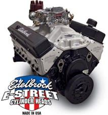 Edelbrock 45080 Crate Engine, E-Street, Carbureted