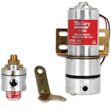 Mallory 29208 Electric Fuel Pump; Regulator Included