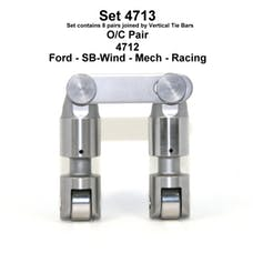 FORD SB MECH ROLLER LIFTERS 4713