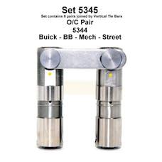 BUICK 400-403-425-455 CU IN MECH ROLLER LIFTERS 5345