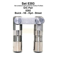 BUICK TURBO V-6 HYD ROLLER LIFTERS 5393