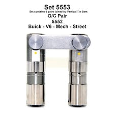 BUICK TURBO V-6 MECH ROLLER LIFTERS 5553