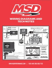 MSD Performance 9615 Wiring Diagrams and Tech Notes