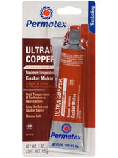 Permatex Ultra Copper Maximum Temp RTV Silicone Gasket Maker