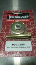 Harmonic balancer bolt SBC