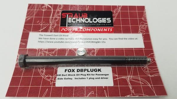 FOX DBPLUGK Plug Kit