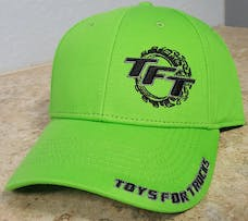 Green and Black Toys For Trucks Adjustable Hat