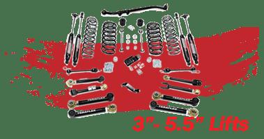 Shop 3 Inch-5.5 Inch Lift Kits