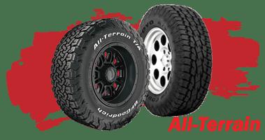 Shop All-Terrain Tires