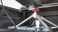 Andersen Hitches 3220 Ultimate 5th Wheel Connection (Gooseneck Ball Mount) -Aluminum ONLY 37 lbs! (w/ ball-funnel)