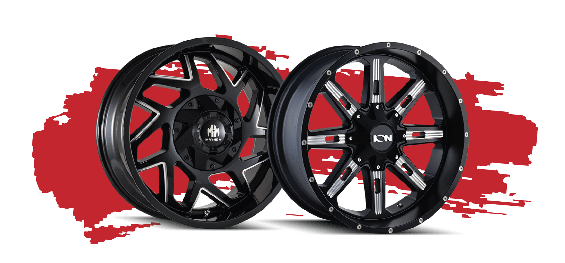 Black Milled Wheels