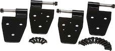 Kentrol 50525 Jeep TJ Door Hinge Set 4 Pieces 97-06 Wrangler TJ Powdercoat Black Kentrol