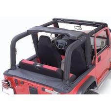 Outland Automotive 391361115 Full Roll Bar Cover Kit; 92-95 Jeep Wrangler YJ