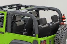Outland Automotive 391361302 Roll Bar Cover, Black Polyester; 07-16 Jeep Wrangler JK