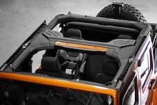Outland Automotive 391361305 Roll Bar Cover, Vinyl; 07-16 Jeep Wrangler JKU