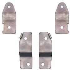 ROCK KRAWLER RK06092 - JK Brake Line Drop Bracket Kit - 07-18 Wrangler JK/JKU
