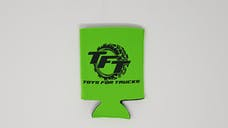 Lime Green Toys For Trucks Pocket Koozie