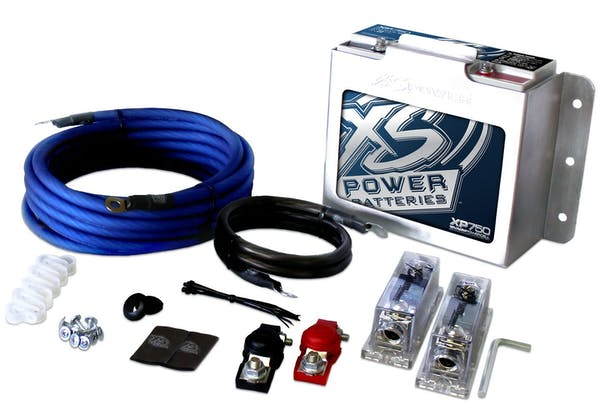 XS Power XP750CK 12V AGM XP Series Supplemental Batteries - M6 Terminal Bolts Included