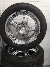 "20"" Fittipaldi Wheel & Tire Package"