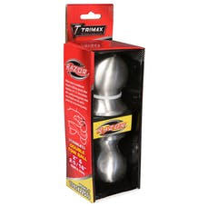"Trimax TDBSX22516 2"" & 2-5/16"" Double Tow Ball Stainless Steel"
