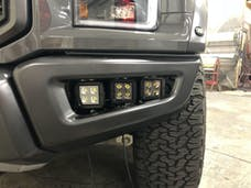 Ford Raptor Triple Light Bumper Bracket