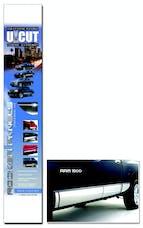 ICI (Innovative Creations Inc.) ARMOR-UCUT6 Rocker Armor U-Cut Black Rocker Panel