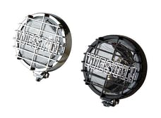 WESTiN Automotive 09-0505 6 in Quartz-Halogen Off-Road Lights with Grid Black (Set of Two)