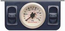 Firestone Ride-Rite 2260 Metal Dual Electric White Gauge