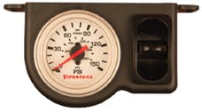 Firestone Ride-Rite 2570 Plastic Single Pneumatic White Gauge