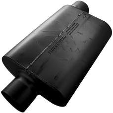 Flowmaster 54031-12 30 Series Race Muffler-4.00 Offset In/4.00 Center Out-Aggressive Sound