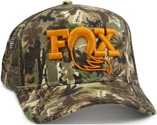 Fox Factory Inc 495-01-222 2017; FOX Camo Trucker Hat; O/S