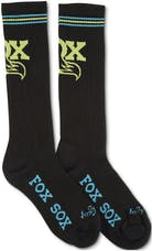 Fox Factory Inc 495-01-224 2017; FOX; 10/quot; Throwback Wool Sock; Black/Blue/Yellow