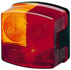 Hella Inc 002776231 2776 Red/Amber Stop/Turn/Tail Lamp LH