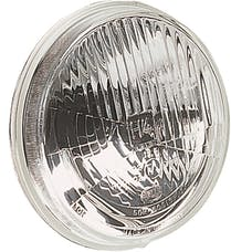Hella Inc 002850031 135mm H4 Single High/Low Beam Headlamp with Position Lamp