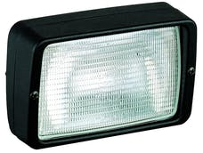 Hella Inc 996082017 Picador Halogen Flush Mount Work Lamp (CR)