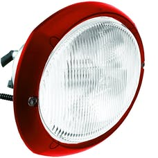 Hella Inc 996158061 Oval 120 Xenon Flush Mount Work Lamp (MR)