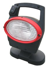 Hella Inc 996261501 Oval 100 Xenon Work Lamp with Integrated Gen 4 Ballast (CR)