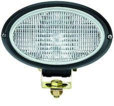 Hella Inc H15161007 Oval 100 Halogen Work Lamp (CR)
