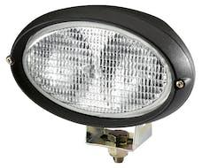 Hella Inc H15161021 Oval 100 Halogen Double Beam Work Lamp (CR)