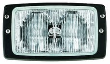 Hella Inc H15213027 Module 6213 Halogen Double Beam Flush Mount Work Lamp (CR)