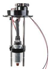 Holley 12-139 Electric Fuel Pump EFI 6 Bolt Flange 255 Lph Hanger Single