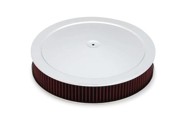 Holley 120-4530 4500 Drop-Base Air Cleaner Chr W/ Gauze