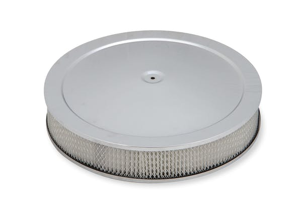 Holley 120-4535 4500 Drop-Base Air Cleaner Chr W/ Paper